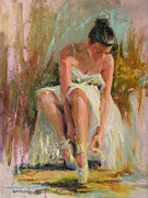 Ballet Dancers Originals - Ballerina by David Garrison