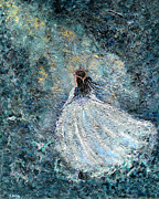 Gown Paintings - Ballerina by Erika Morrison