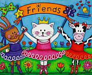 Ballerina Friends Print by Lisa  Lorenz