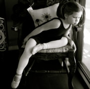 Child Ballerina. Photos - Ballerina in Black and White by Nadine Rippelmeyer