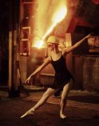 Foundry Prints - Ballerina in Foundry Print by Don Wolf