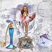 Ballerina Print by Mo T