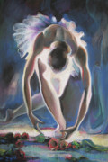 Ballerina Paintings - Ballerina by Tigran Ghulyan