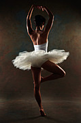 Pointe Shoes Posters - Ballerina Poster by Tonino Guzzo