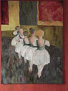 Ballet Dancers Prints - Ballerinas Two Print by Kimberly Hill
