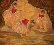 Ballet Originals - Ballerinas with Blue Hair by Kimberly Hill