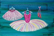 Apparel Painting Prints - Ballet Apparel 4533 Print by Jessie Meier