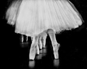 Ballet Black And White Print by Kevin Moore