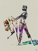 Gymnastics Paintings - Ballet Dance by Irina  March