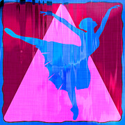 Dancer Art Posters - Ballet Dancer Poster by David G Paul