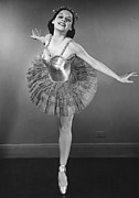 Ballet Dancer Photo Posters - Ballet Dancer Poster by George Marks