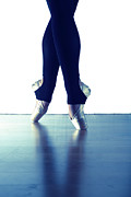 Ballet Dancer Photo Posters - Ballet Feet 1 Poster by Scott Sawyer