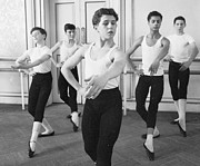 Ballet Dancer Photo Posters - Ballet For Boys Poster by John Drysdale