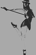Ballet Girl Print by Naxart Studio