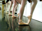 Ballet In Studio Print by Chiara Costa