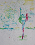 Ballet Pointe 2 Print by Carolyn Weir