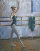 Office Space Painting Originals - Ballet Practice by Sarah Parks