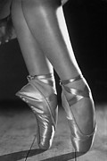 Ballet Dancer Photo Posters - Ballet Shoes Poster by Sasha