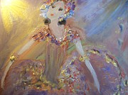 Stage Painting Originals - Ballet Solo by Judith Desrosiers