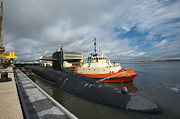 Georgia Photos - Ballistic Missile Submarine Uss by Stocktrek Images