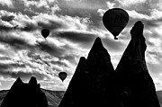 Chimneys Originals - Ballons - 2 by Okan YILMAZ