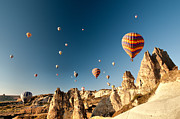Historical Photo Originals - Ballons - 4 by Okan YILMAZ
