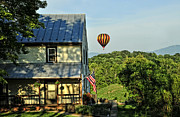 Balloon Country  Print by Lara Ellis