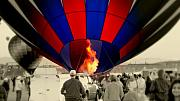 Albuquerque Prints - Balloon Day.. Print by Al  Swasey
