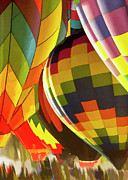 Hot Air Balloon Prints - Balloon Glow 5 Print by Sharon Foster