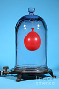 Volumes Prints - Balloon In A Vacuum, 3 Of 6 Print by Ted Kinsman
