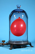 Volumes Prints - Balloon In A Vacuum, 5 Of 6 Print by Ted Kinsman