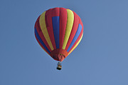 Ascension Parish Prints - Balloon in Red Yellow and Blue Print by Helen Haw