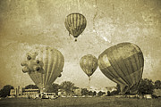 Vmi Framed Prints - Balloon Rally Framed Print by East Coast Barrier Islands Betsy A Cutler