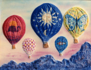 Dan Townsend Metal Prints - Balloon Ride Metal Print by Dan Townsend