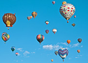 Fiesta Metal Prints - Balloons Abound Metal Print by Jim Chamberlain