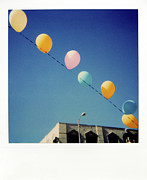 Transfer Posters - Balloons Poster by Nicole Apatoff