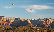 Sedona Prints - Balloons over Sedona Print by Jim Chamberlain
