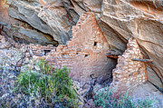Blanding Prints - Ballroom Anasazi Indian Ruins - Butler Wash - Utah Print by Gary Whitton