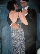 Ballroom Posters - Ballroom Couple Poster by P Jones