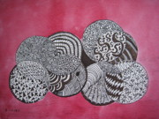 Bonnie Wright Metal Prints - Balls Of Yarn Metal Print by Bonnie Wright