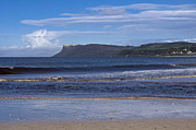 Ballycastle Beach Print by Trevor Buchanan