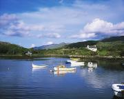 Of Water-dwelling Framed Prints - Ballycrovane Harbour, Beara Peninsula Framed Print by The Irish Image Collection