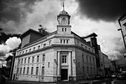Ballymena Town Hall Now Part Of The Braid Museum And Arts Complex Ballymena  Print by Joe Fox