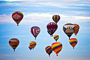 Balloon Fiesta Framed Prints - Baloons Framed Print by Ralf Kaiser