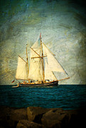 Joan Mccool Prints - Baltic Sailing Print by Joan McCool