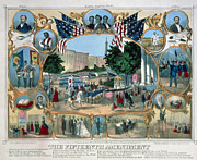 15th Amendment Prints - BALTIMORE: 15th AMENDMENT Print by Granger