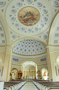 Blessed Mother Photos - Baltimore Basilica by John Greim
