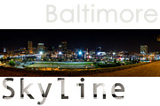 Best Choice Framed Prints - Baltimore Downtown Framed Print by Syed Aqueel