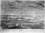 War Of 1812 Prints - BALTIMORE: FORT McHENRY Print by Granger