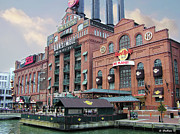Espn Photo Prints - Baltimore Power Plant Print by Brian Wallace